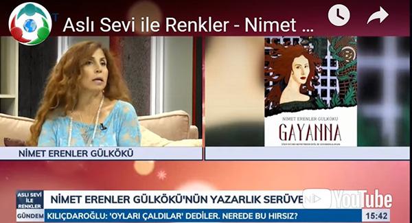 Aslı Sevi ile Renkler – Nimet Erenler Gülkökü – 27 Haziran 2019 – KRT TV