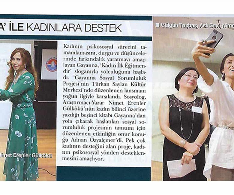 Gayanna ile Kadınlara Destek - Hello Dergisi